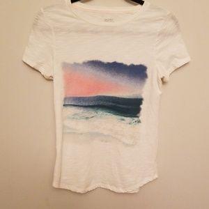 Sunset Gilligan & O'Malley shirt size XS
